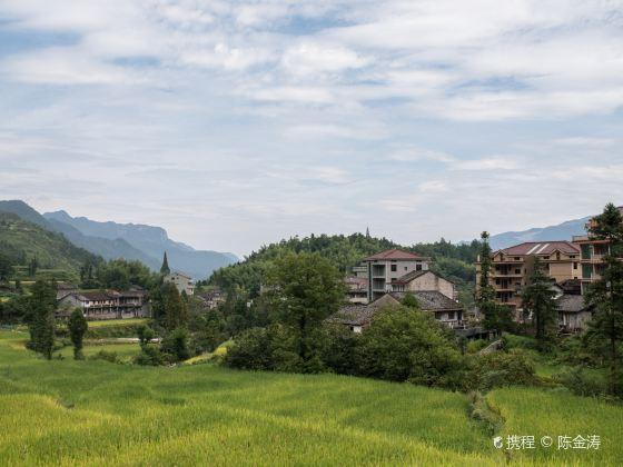 Tian Fish Village of China