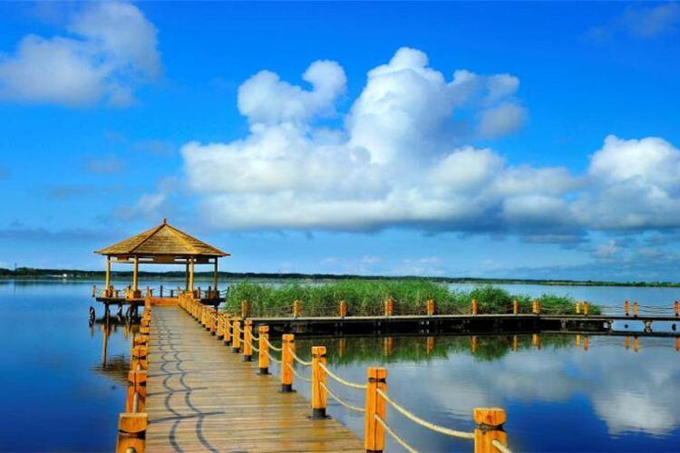興凱湖新開流景區