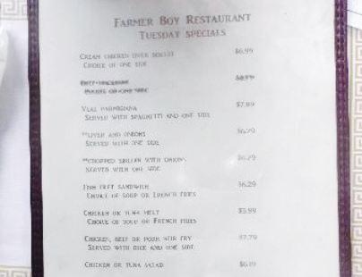Farmer Boy Restaurant