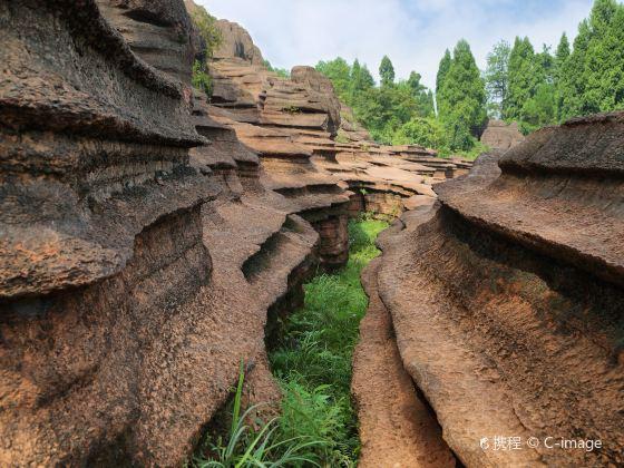 紅石林國家地質公園博物館