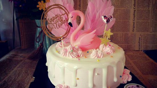 貝可多生日蛋糕·鮮花