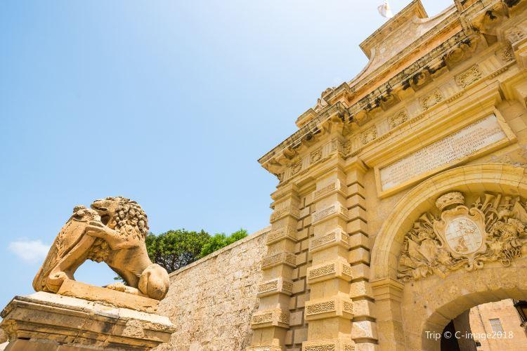 Mdina Main Gate - Baroque gateway4