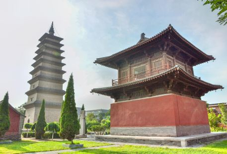 Zhengding Four Towers