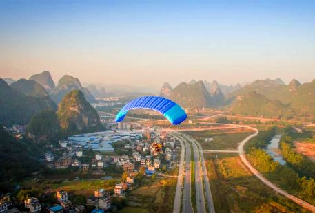 Yansha Hot Air Balloon Paragliding Experience