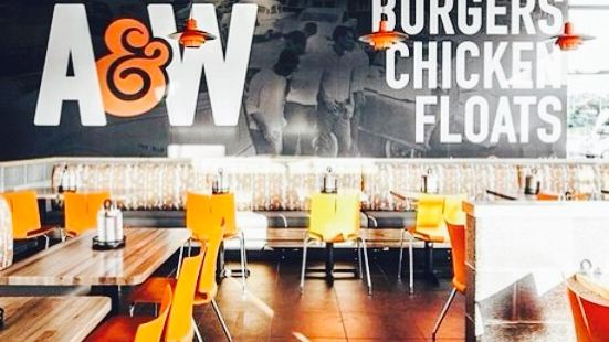 A&W Burgers Chicken Floats