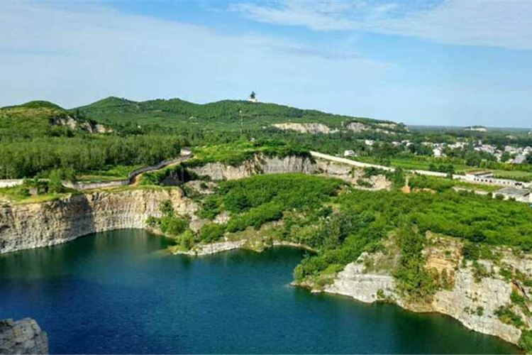 The Great Puissance of Han Dynasty, Mangdangshan Scenic Spot1