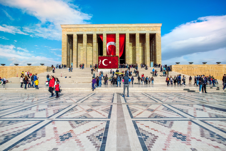 Mausoleum for former Turkish leader