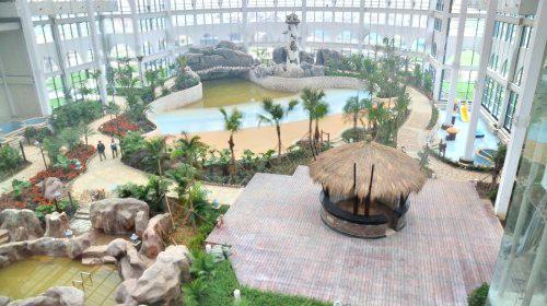 Hot Spring Center of Huatai Hot Spring Hotel