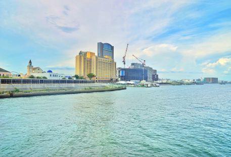 大阪南港海灘