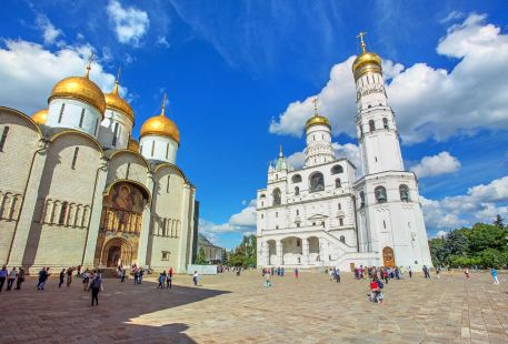 Cathedral Square in Moscow