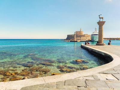 Rodos Old Port