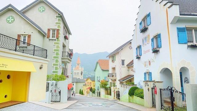 雪絨花瑞士主題公园