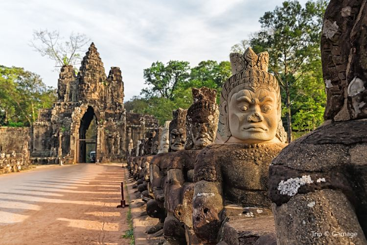 South Gate - Angkor Thom1