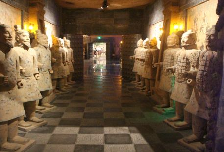 """""""Dream back to the Qin Dynasty"""" Traversing Experience Hall"""