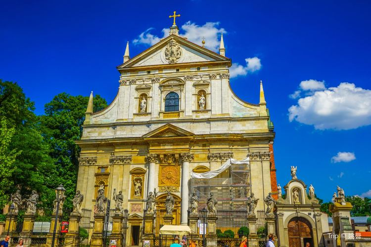 克拉科夫聖伯多祿聖保祿教堂1