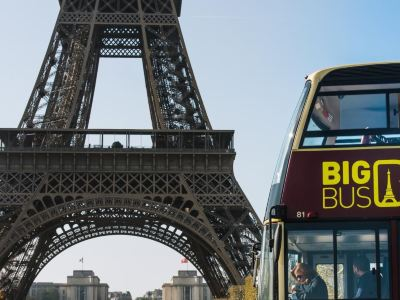Big Bus Paris 巴黎隨上隨下觀光巴士