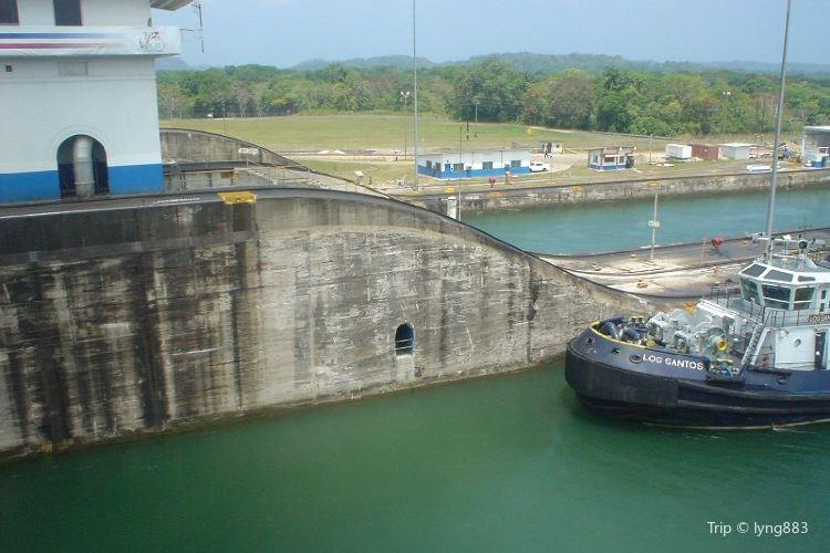 Gatun Dam (Represa de Gatun)