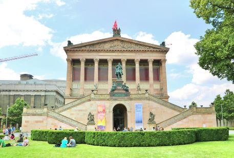 The National Gallery in Berlin
