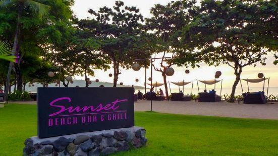 日落海灘燒烤酒吧