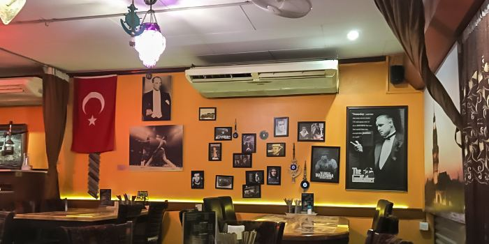 Istanbul restaurant Cafe, Turkish Delight