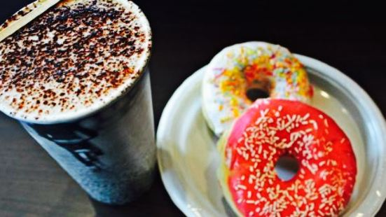 Bagels and coffees