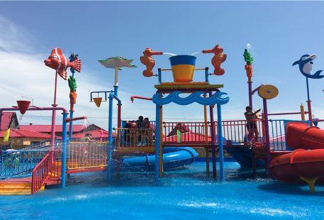 Xiangqian Shanzhuang Wolongwan Water Amusement Park