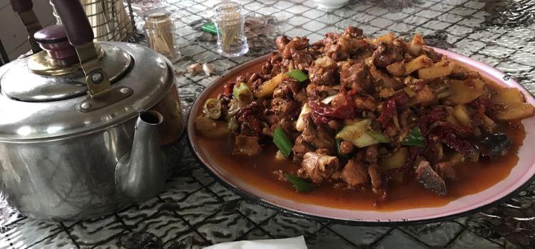 建國大盤雞飯店1