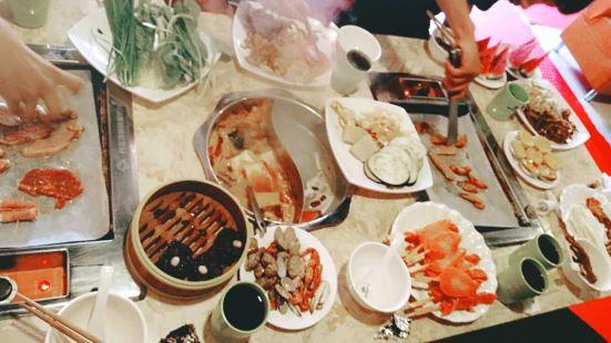 白金漢獅韓派烤肉