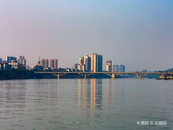 Minjiang River Bridge, Leshan