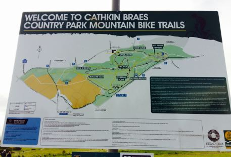 Cathkin Braes County Park Mountain Bike Trails