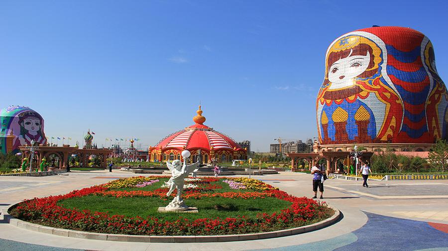 滿洲里套娃景區