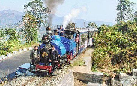 大吉嶺喜馬拉雅火車