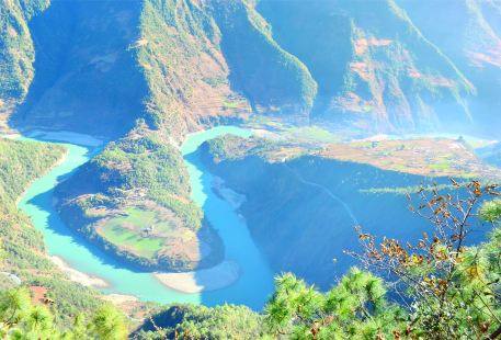 The First Bend of Nujiang River