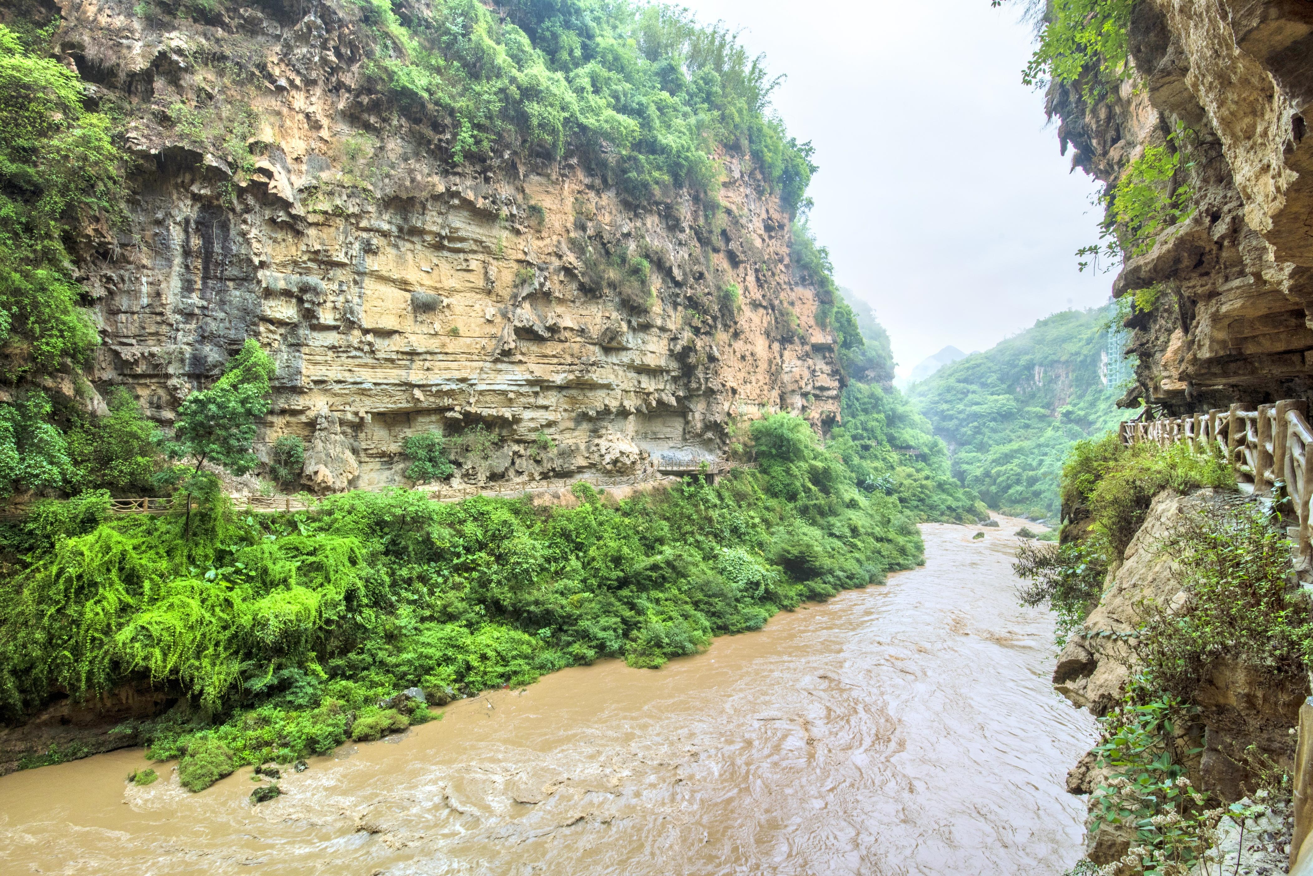 馬嶺河峽谷漂流