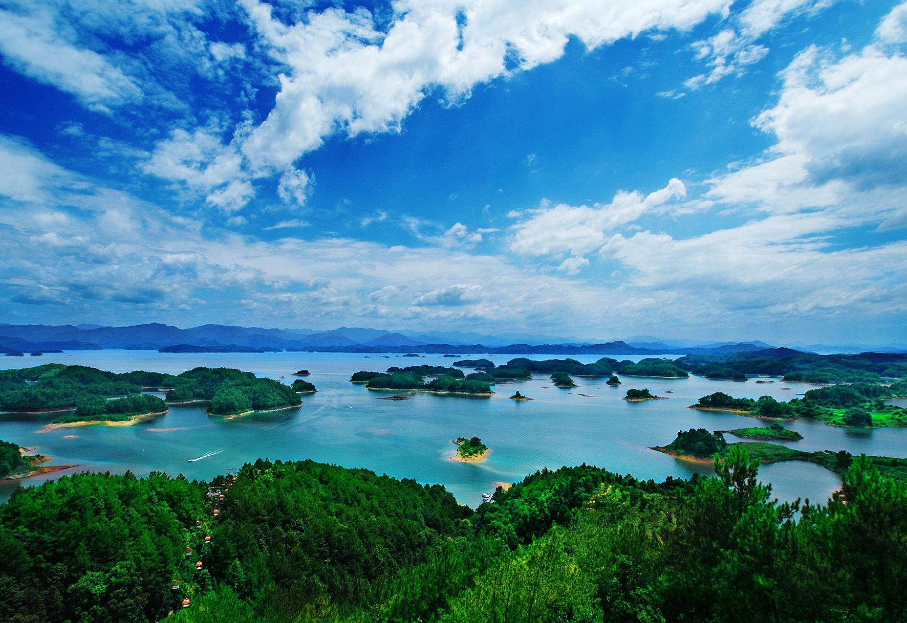 千島湖中心湖區