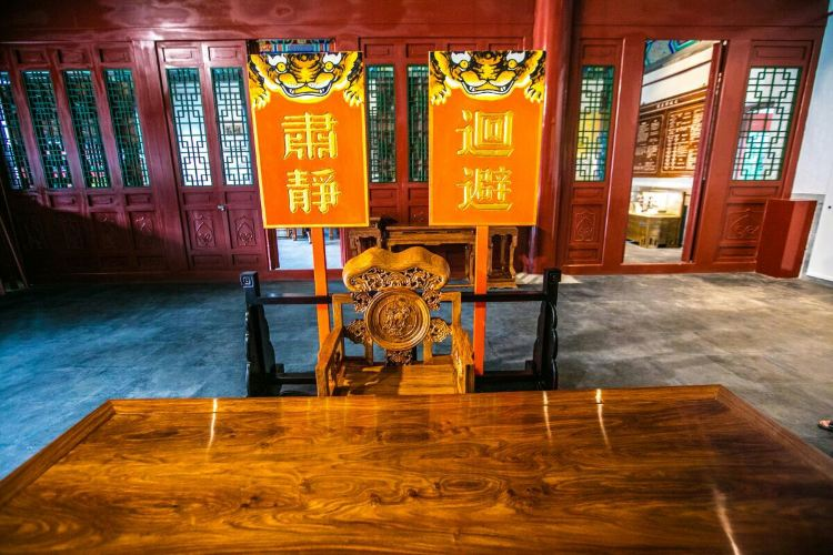 Zhengbanqiao Memorial Hall1