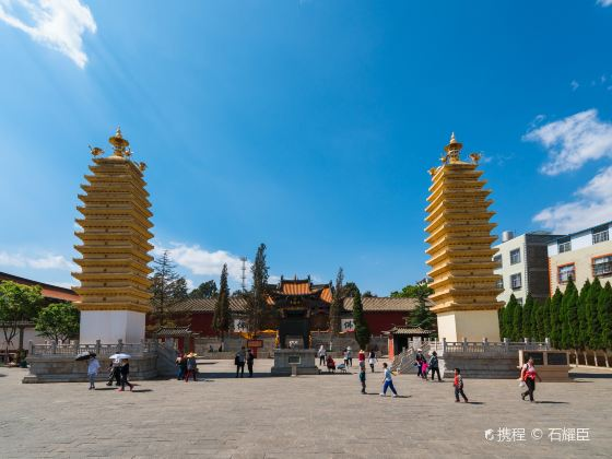 Twin Towers, Miaozhan Temple