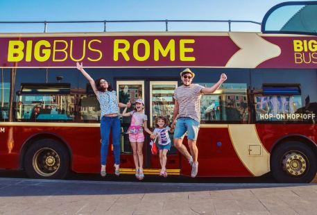 Big Bus Rome 羅馬隨上隨下觀光巴士