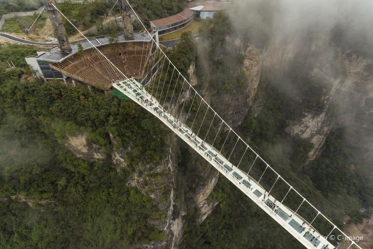 Zhangjiajie Grand Canyon Glass Bridge1