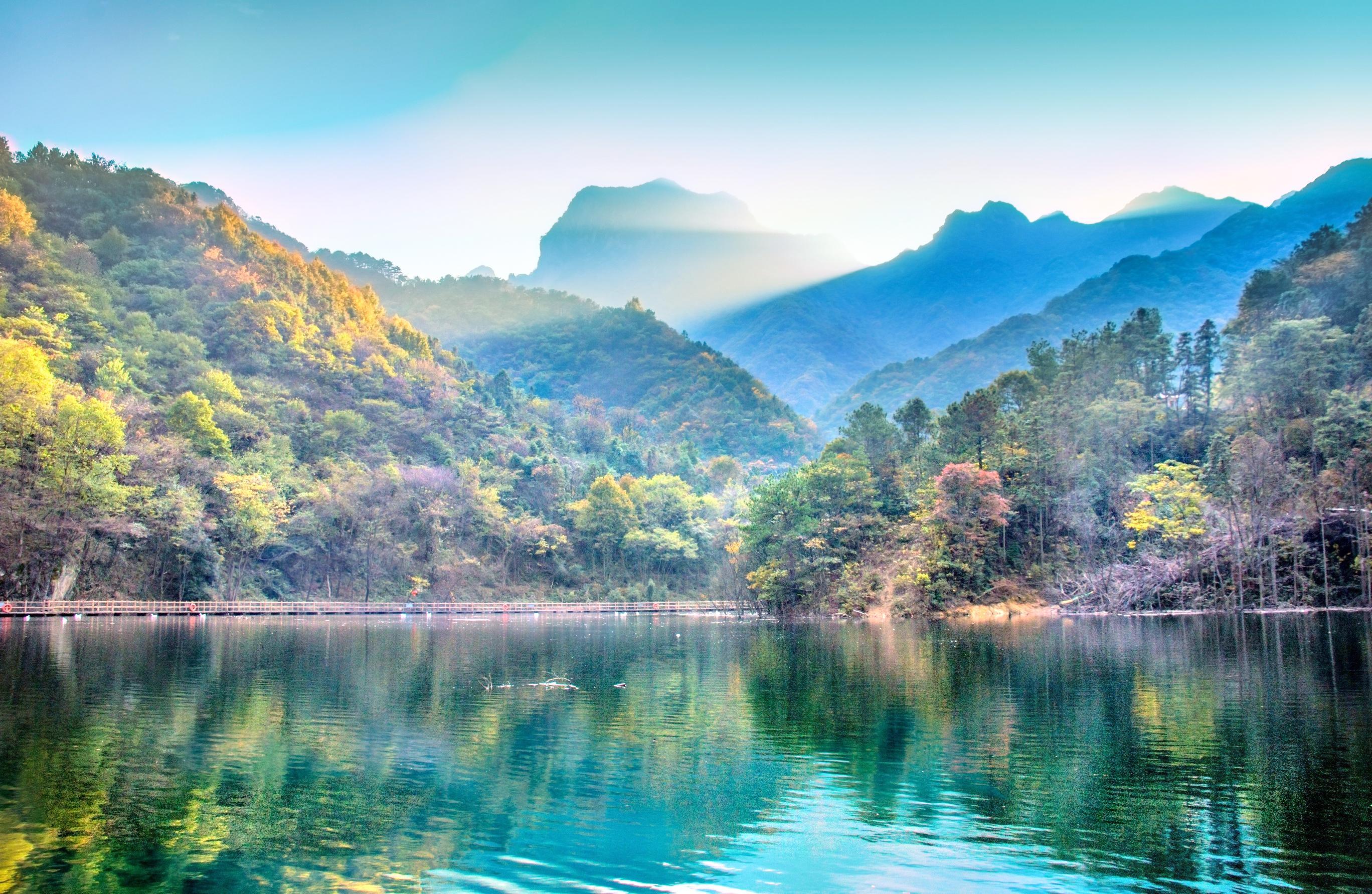 Jingangtai (Cat's Ear Peak) National Geological Park
