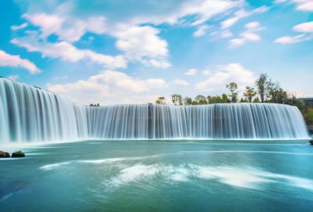 The Waterfall Park of Kunming