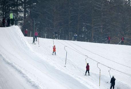 雁鳴蟹島滑雪場