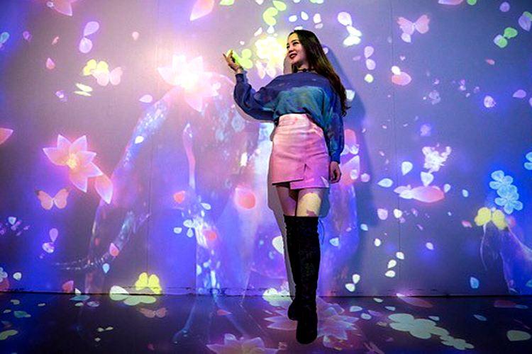 迷宮的異想世界——撩角創意空間科技光影藝術展2