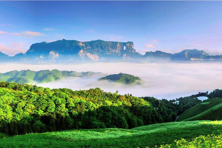 톈먼산 국가산림공원(천문산 국가삼림공원)4