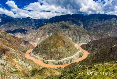 Jinsha River Big Turn