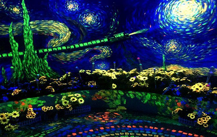 梵高星空藝術館2