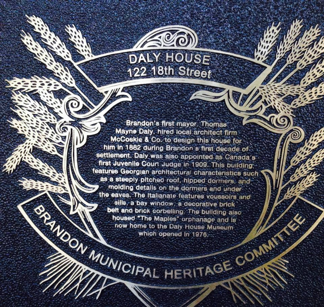 The Daly House Museum