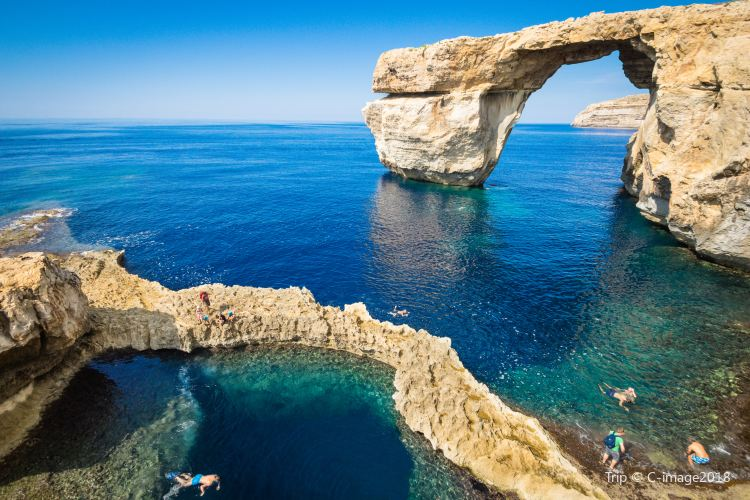 Azure Window Ruins3