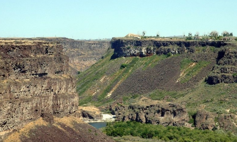 Evel Knievel Snake River Canyon Jump Site