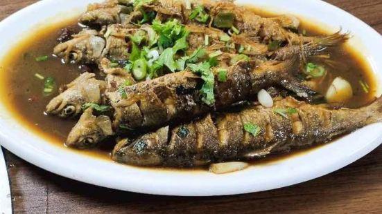 大東北鐵鍋燉灶台魚